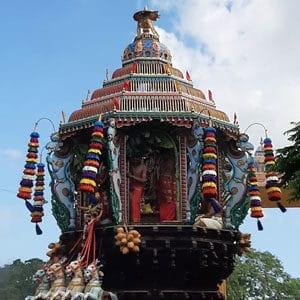Vallipura Aalvar Kovil Chariot Festival 2020